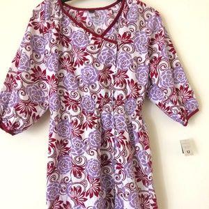 Girls Wrap kimono inspired Dress